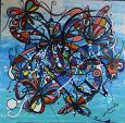 Farfalle - anna casu - Acrilico - 200 €