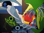 MY WORLD 96 - Francesco  Venier - Acrilico