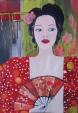 Fleur de Lotus   (Fiore di Loto) - Luana Marchisio - Olio - 150 €