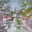 Reflets.. d'un Sentiment     (Riflessi.. di un Sentimento) - Luana Marchisio - Olio - 150 €