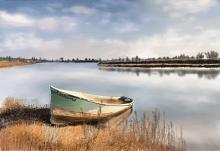Barca abbandonata - Michele De Flaviis - Digital Art