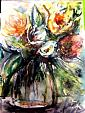Fiori in vaso - tiziana marra - Acquerello - 55,00€