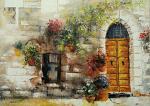 La Porta del Sole - Mery BLINDU - Acrilico - 300 €