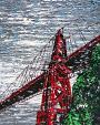 Ponte di San Francisco - Daniela Pasqualini - Acrilico