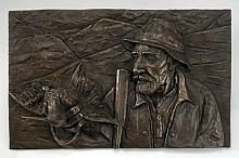 Il Vecchio Beccacciaio - Daniele Giusberti - Scultura in Bronzo - 1600€