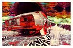 Italia Noir 2 - Lucio Forte - penna e pantone su fotocomposizione applicata su tavola - 200 €