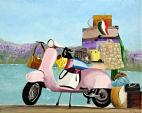 Il mio modo di viaggiare - Daniela Pasqualini - Olio - 150 €