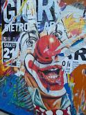 Pagliaccio - lucio monaco - Collage - 250€