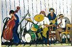 Orchestrina Jazz - mario fanconi - Olio - 400 €