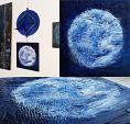 """""""My blue moon"""" - aliz polgar - materico"""