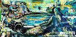 Una sirena a Scilla - tiziana marra - tecnica mista - 280,00€