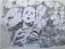 fiore - Franco Gabotti - Pastelli - 170€