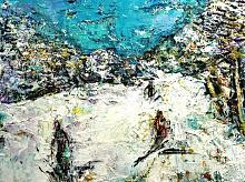 Paesaggio bianco - tiziana marra - Action painting - 150,00€