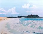 Spiagge Bianche - Gabriella Poggi - Olio