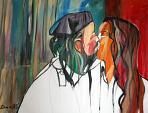Il bacio - Gabriele Donelli - Olio - 500 €