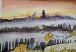 Paesaggio - Caterina Martinetto - Acquerello - 50,00 €