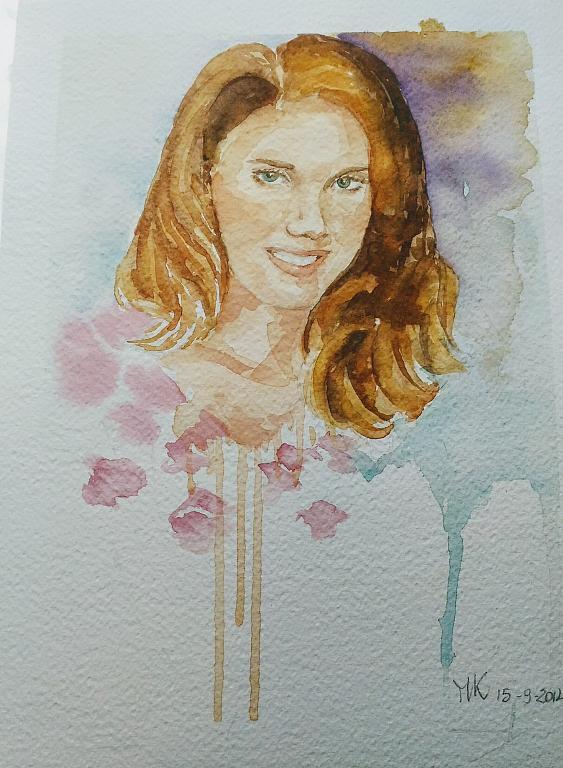 Ritratto di Valentina - Caterina Martinetto - Acquerello - 100,00 €