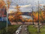 Piove - Olga Maksimova - Olio
