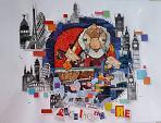 IL ARCHITETTO RE ciclo IL MESTIERI - Viktoriya Bubnova - Collage