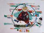 IL DOTTORE ciclo I MESTIERI - Viktoriya Bubnova - Collage