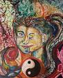 Yin e Yang - Andrea  Schimboeck  - Acrilico
