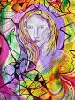 L'angelo e il vento - Andrea  Schimboeck  - Acrilico