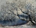 Inverno  - Olga Maksimova - Olio