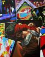 LA MORTE DELL'ARTE - Paolo Benedetti - Acrilico - 1600,00€