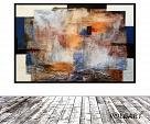 Abstract,sovrapposizione  - aliz polgar - materico - 280 €