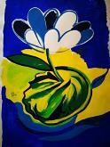 Acid flower 1 - Alessandra Bisi - Tempera - 160€