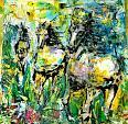 Tre Cavalli - tiziana marra - Action painting - 220,00€