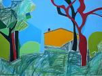Paesaggio - Gabriele Donelli - Pastello e acrilico - 500 €