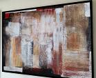 Abstract on rustic - aliz polgar - materico - 300 €