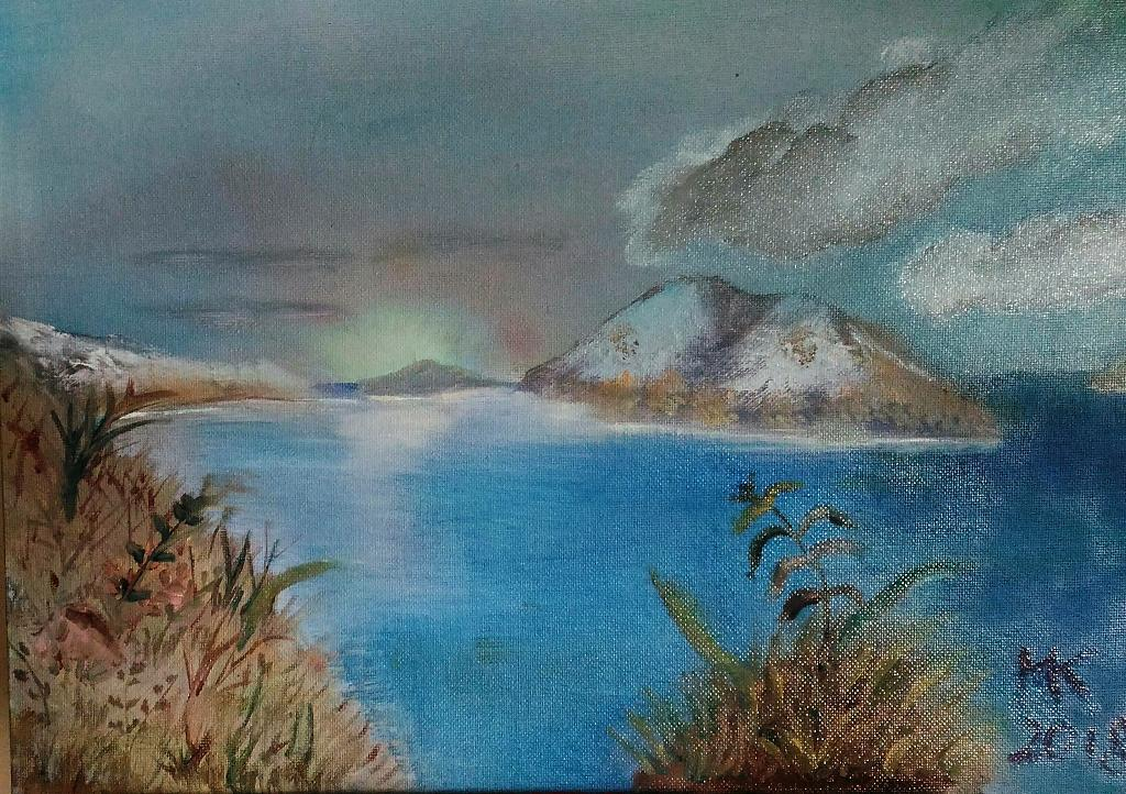 Paesaggio nordico - Caterina Martinetto - Olio