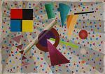 Omaggio a Piet Mondrian - Carlo Maschio - Acrilico - 50€