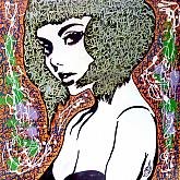 She's in graffiti - marco stazzini - Acrilico - 130€