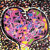 Stoz heart - marco stazzini - Acrilico - 155€