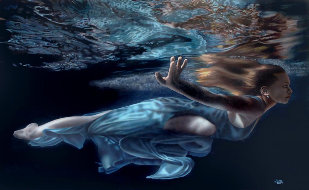 Underwater 1 - Ivan Pili - Olio