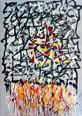 HGYPT 0101 - marco stazzini - Action painting - 220€