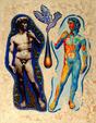L'Anima e il Corpo - Costantino Canonico - Olio - 3000€