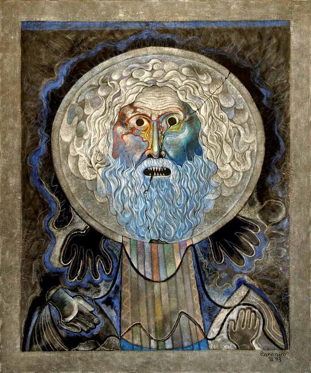 La Bocca della Verità - Costantino Canonico - Olio
