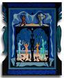 Lo Scrigno di Jung - Costantino Canonico - Olio - 3500€