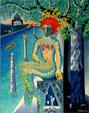 La Sirena del Tevere - Costantino Canonico - Olio - 3500€