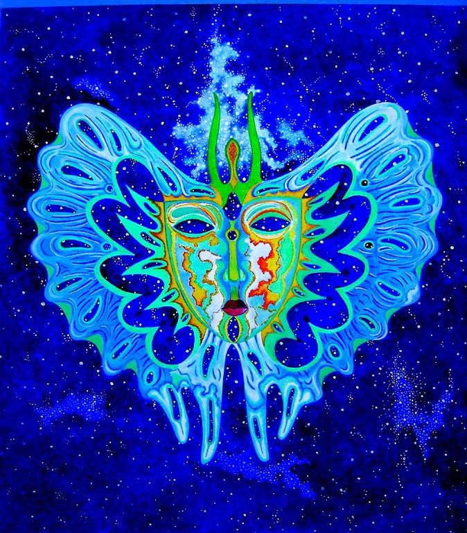 Farfalla Notturna - Costantino Canonico - Olio - 1500 €