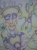 figura - ABELE DE RENZI - Pastelli