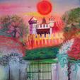 Sogno senza fine - Monica Bedini - Acrilico