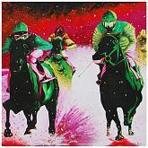 Corsa sotto la neve - GRECO Bruno - Acrilico