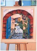 Frammento di Santorini - Marisa Milan - Acrilico