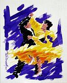 Quik Step - Paolo Benedetti - Acrilico - 200€