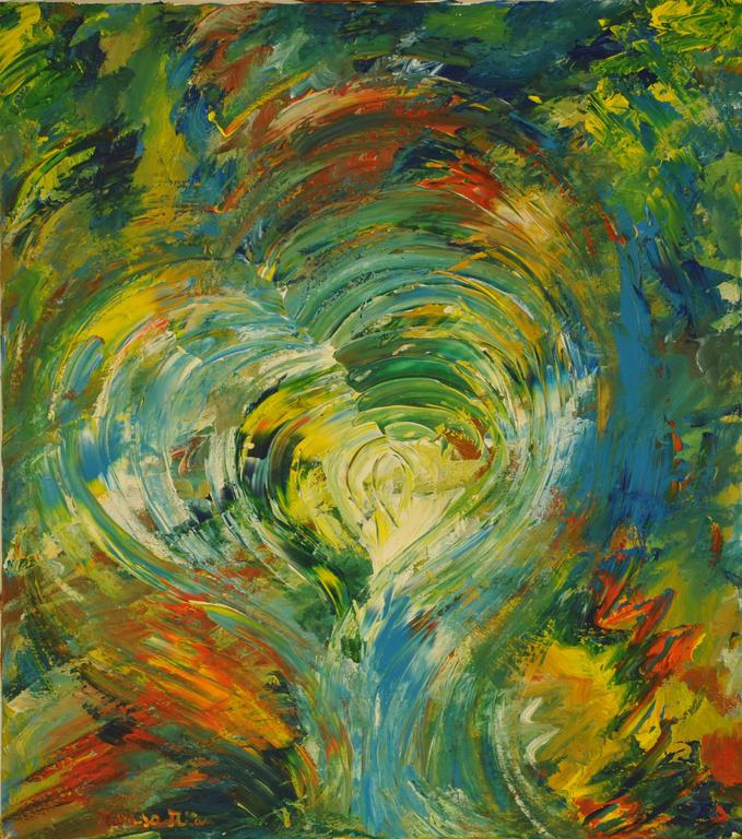 L'amore - Marisa Milan - Acrilico